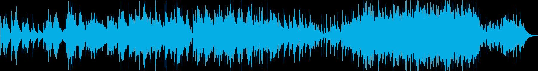 映像BGM・回想シーン・感動的の再生済みの波形