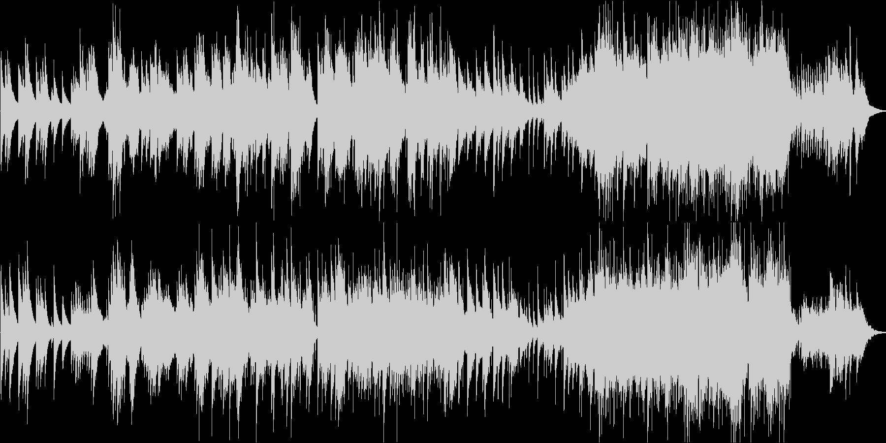 映像BGM・回想シーン・感動的の未再生の波形