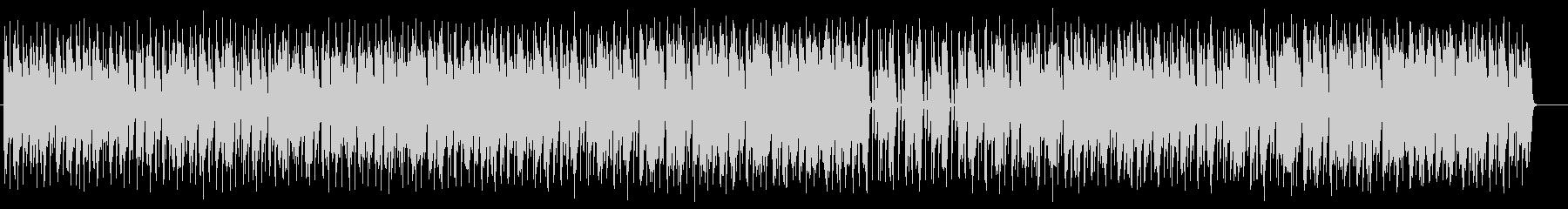 テクノポップな幻想的な音楽の未再生の波形