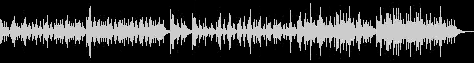 仲直りの曲(ピアノ・優しい・感動)の未再生の波形