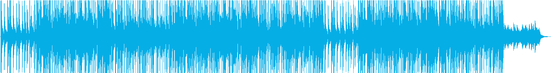 1970年代のスタイルのスムースジャズの再生済みの波形