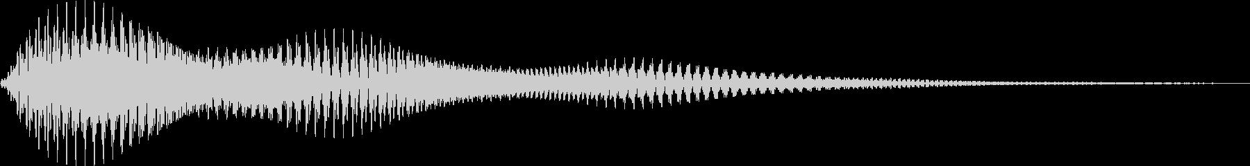 [ホワンッ]ボタン/カーソル/決定/設定の未再生の波形