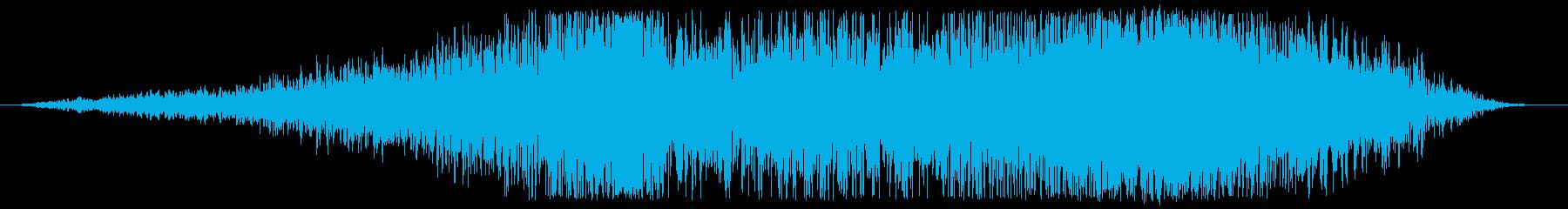 データチューンライザーの再生済みの波形