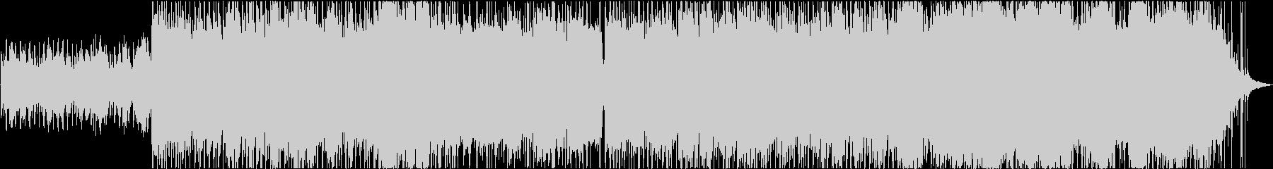 ピアノパターンを特徴とするポップロックの未再生の波形