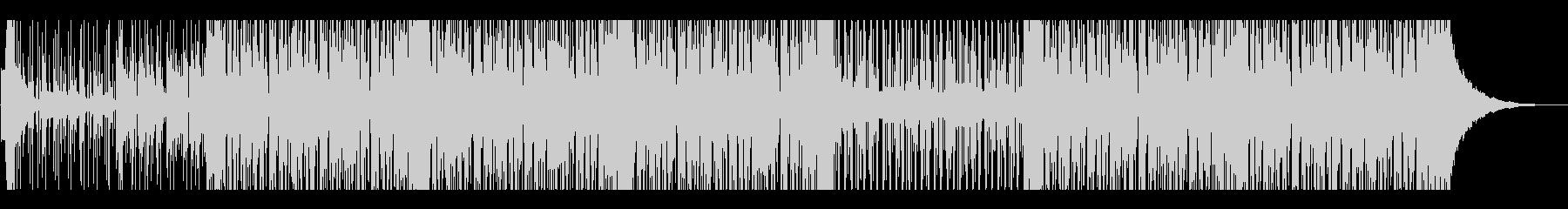 浮遊感のあるマリンバ・アンビエントの未再生の波形