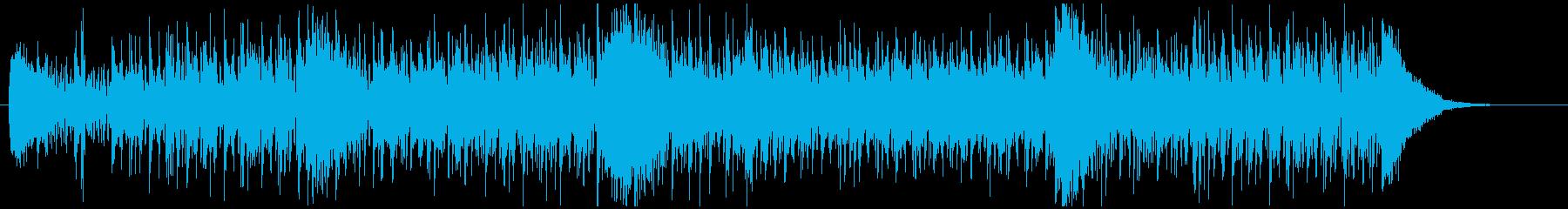 番組オープニングなどでの再生済みの波形