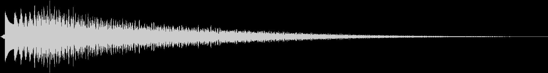 キラーン(アプリ、ゲーム、決定)の未再生の波形