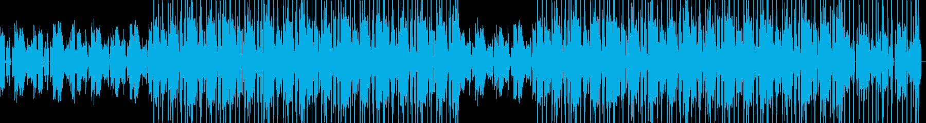 お洒落なヒップホップ・シティポップの再生済みの波形