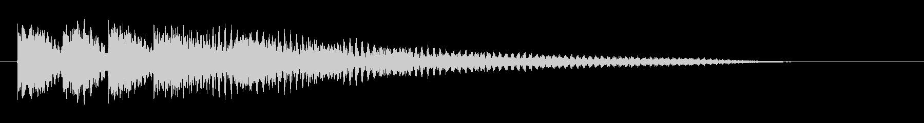 ガガガガーン サスペンス 衝撃 #5の未再生の波形