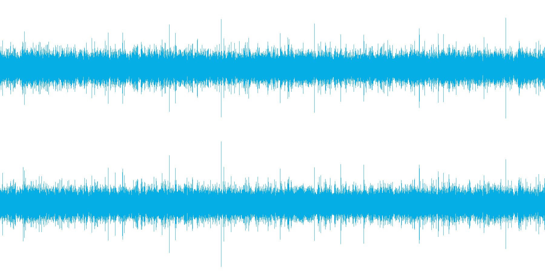 川のせせらぎ(小川)F(ループ再生可)の再生済みの波形