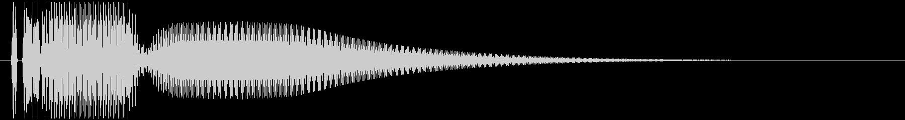 ビヨーン(びっくり箱やジャンプのSE)の未再生の波形