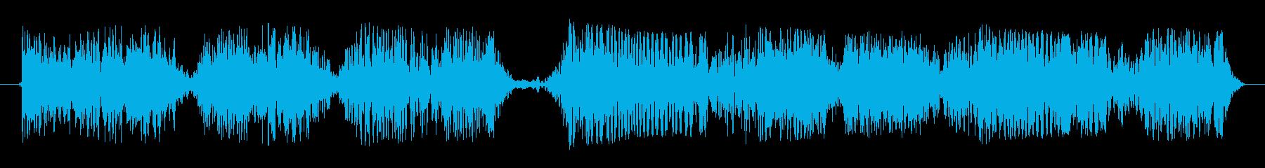 断続的な静的干渉スワイプ8の再生済みの波形