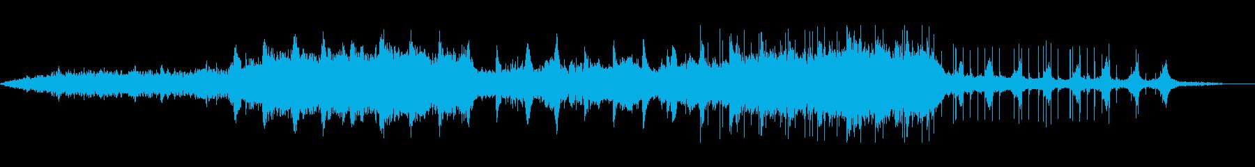 幻想的なアンビエントBGM、サロン、スパの再生済みの波形