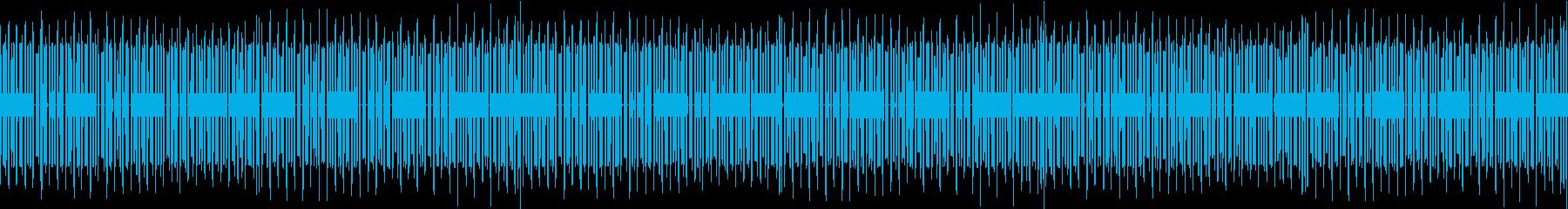 ファミコン風アクションRPGボスのテーマの再生済みの波形