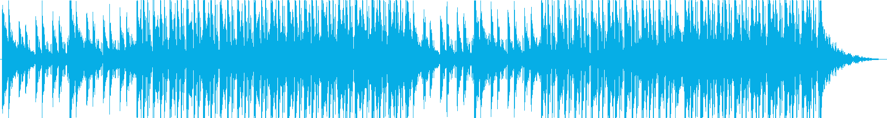 キャッチーで爽やかなHipHopの再生済みの波形
