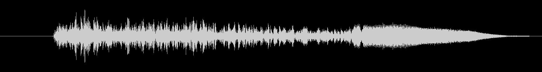 鳴き声 リトルガールスノート07の未再生の波形