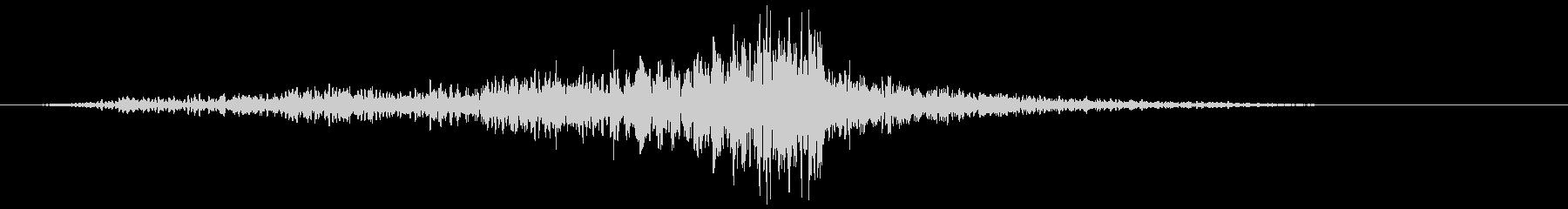 ヒューシュエアライジングフィナーレ2の未再生の波形