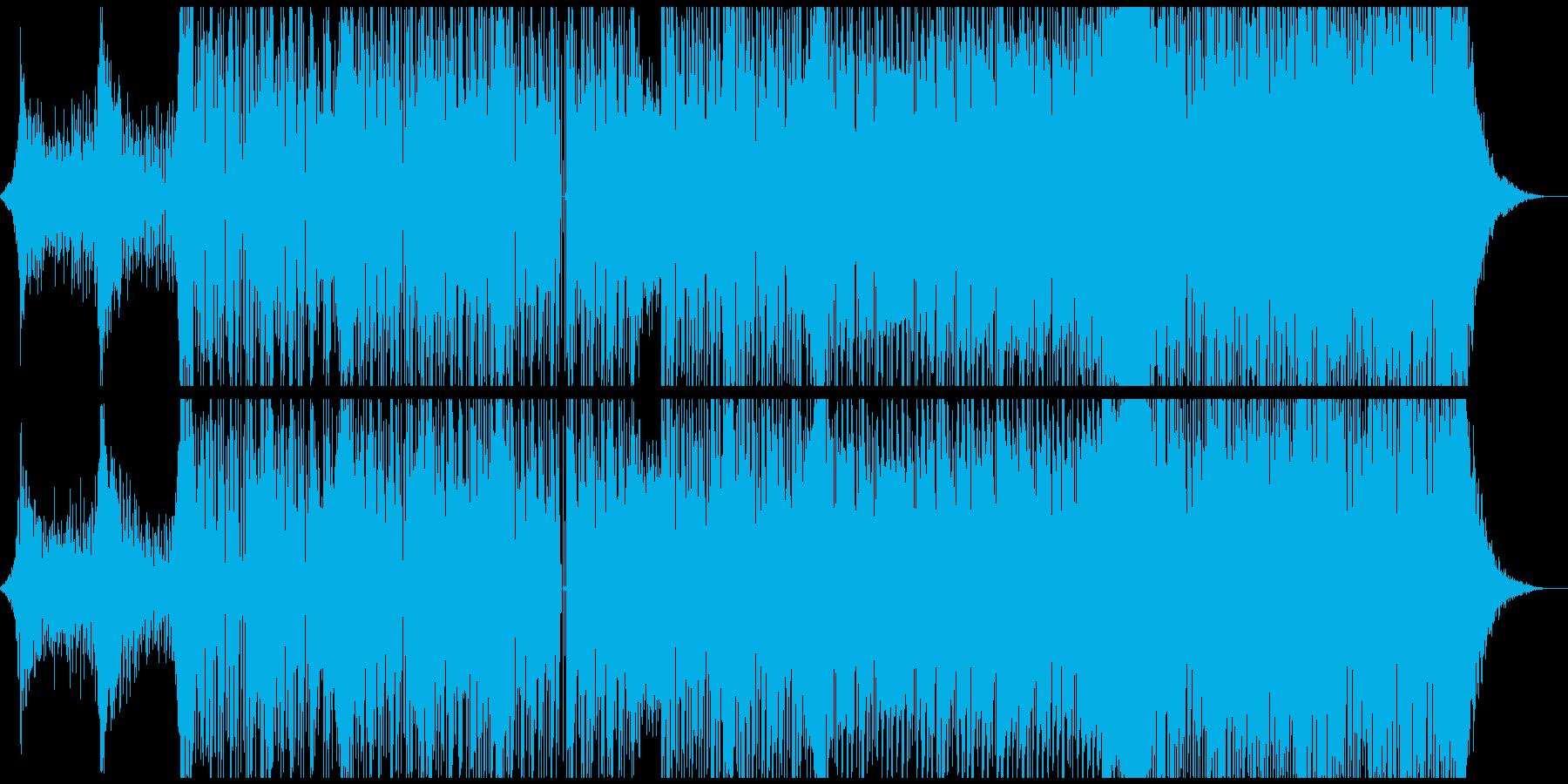 ダブステップ スタイリッシュ シン...の再生済みの波形