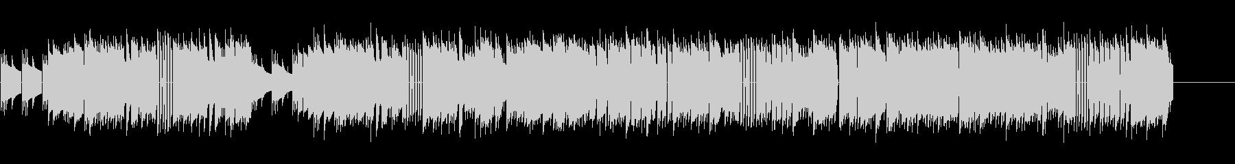 「結婚行進曲」8bit verの未再生の波形