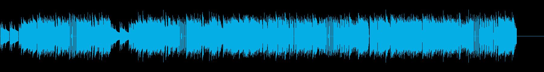 「結婚行進曲」8bit verの再生済みの波形
