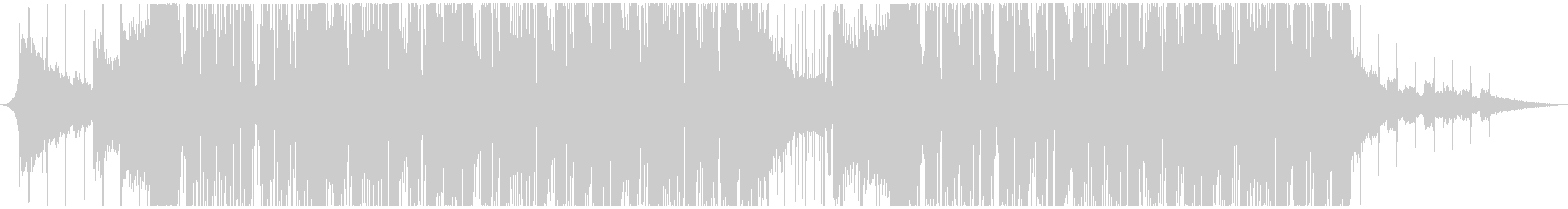 幻想的な映像に合うFuture Bassの未再生の波形