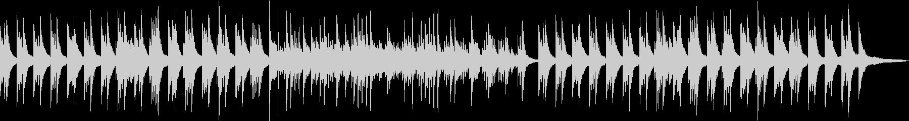 シンプルで明るいピアノソロBGMです。の未再生の波形