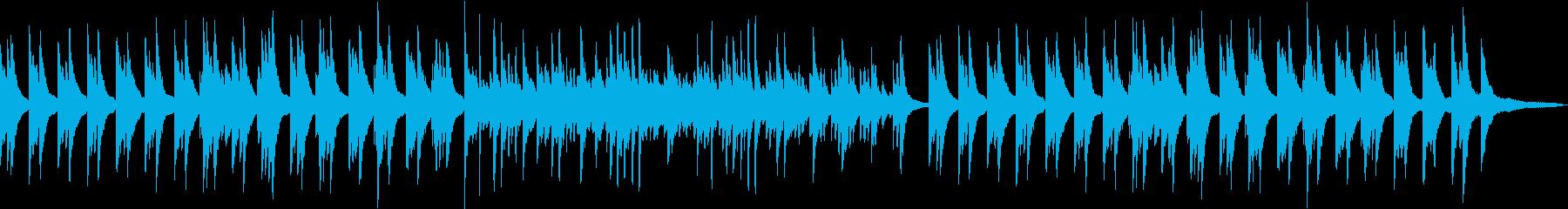 シンプルで明るいピアノソロBGMです。の再生済みの波形