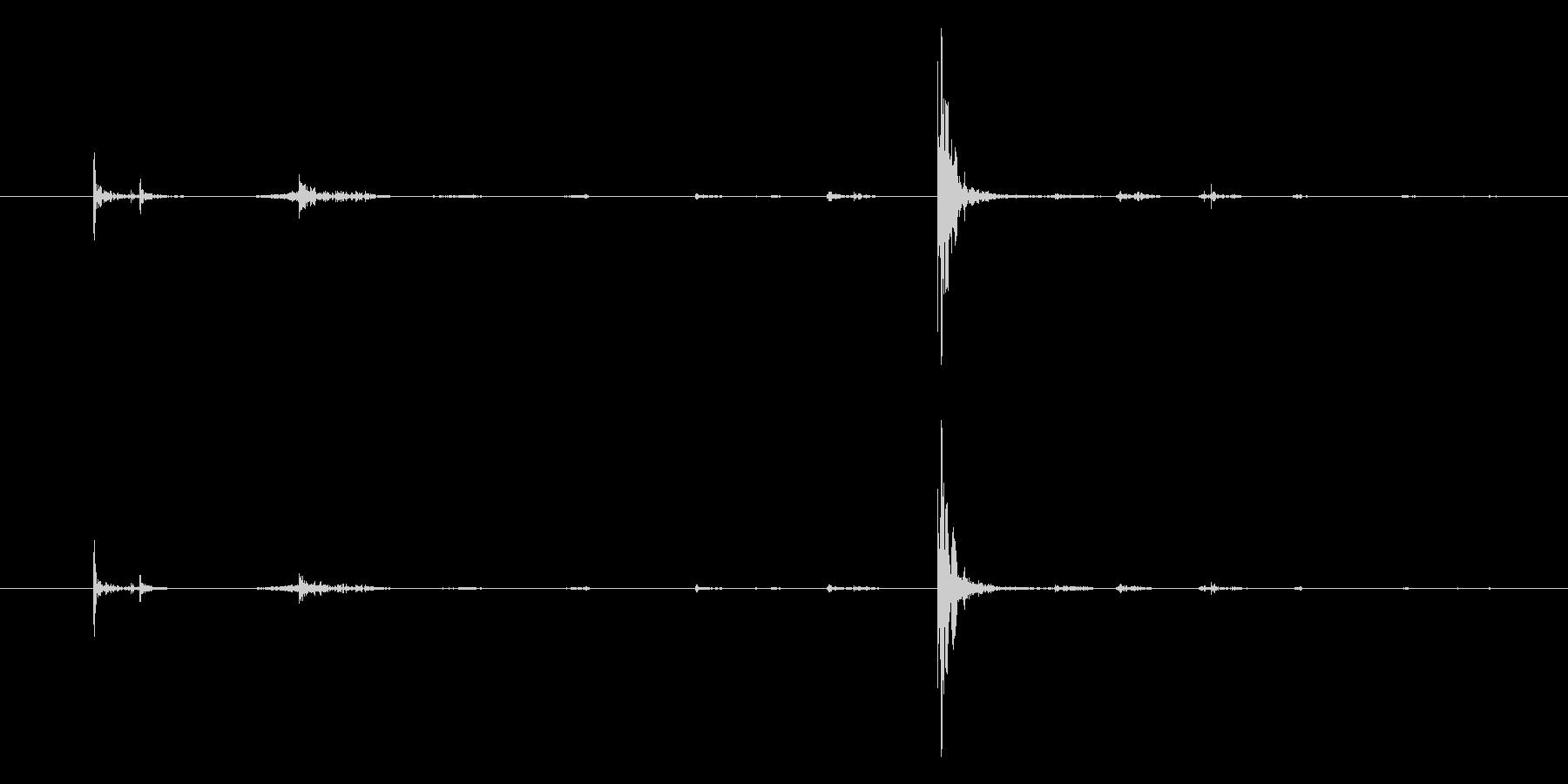 プラスチック ボウルクローズハード01の未再生の波形