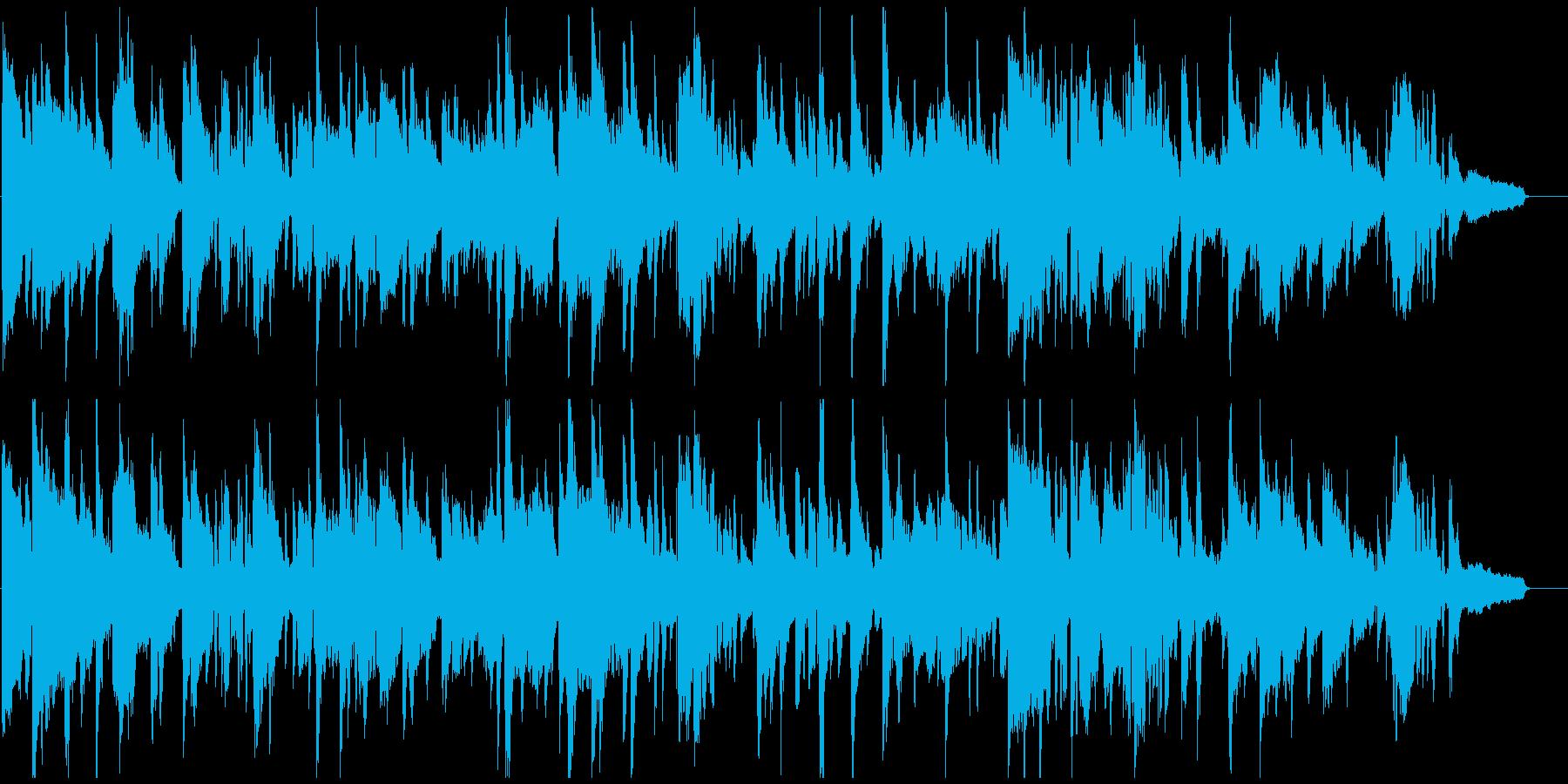 お下品なエロいサックス、艶めかしい音の再生済みの波形