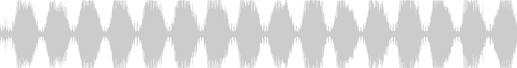 機械的な警報アラーム効果音・ループBGMの未再生の波形