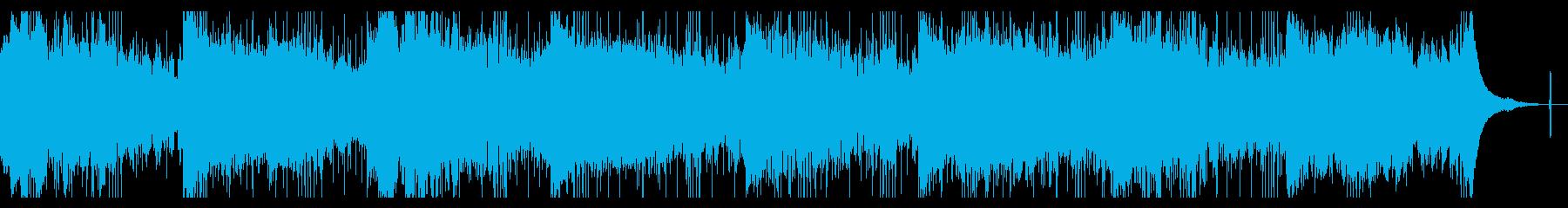 シネマティックなテクスチャーIDMの再生済みの波形