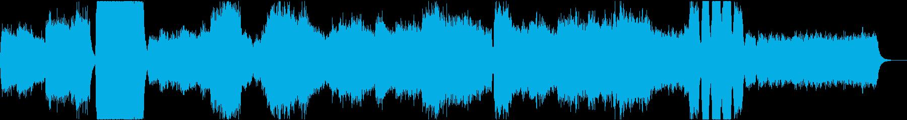 悲しみの声の再生済みの波形
