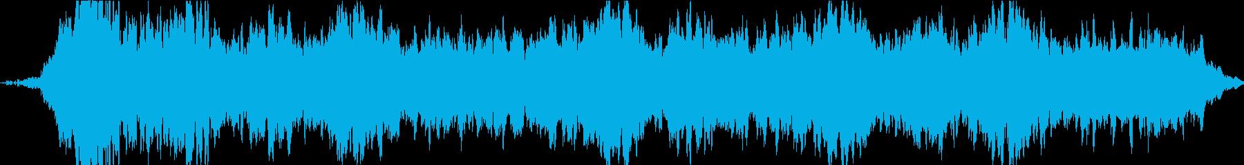 ドローン アースドローン03の再生済みの波形