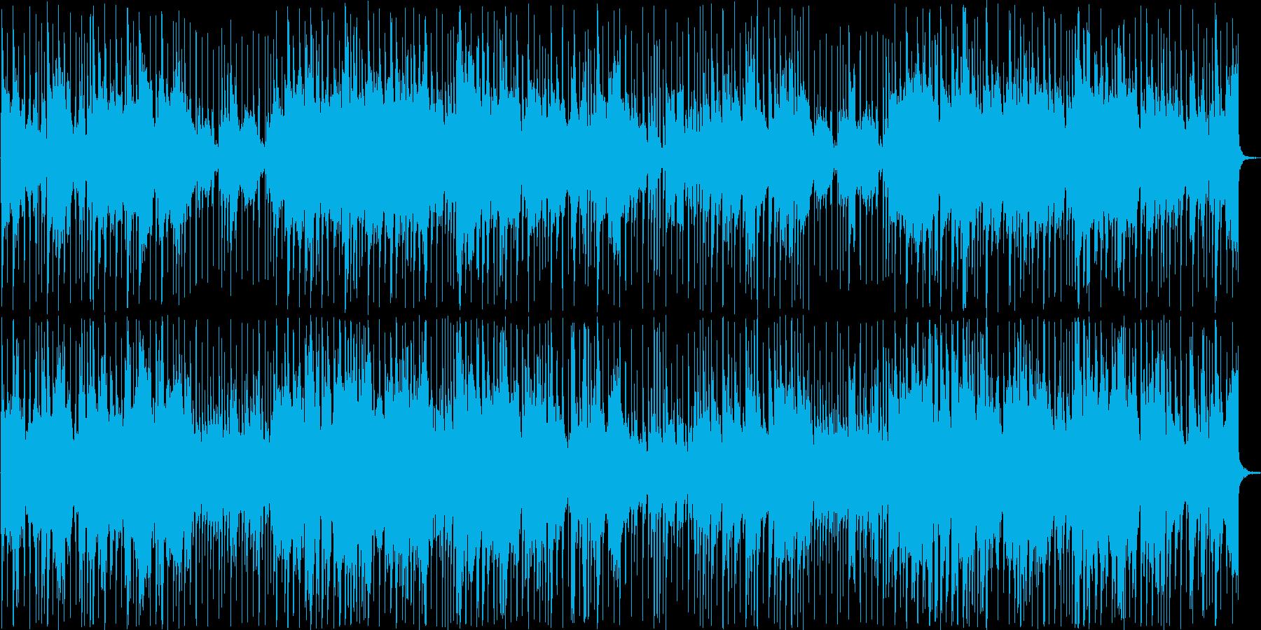 ほのぼのとした和風バラードの再生済みの波形