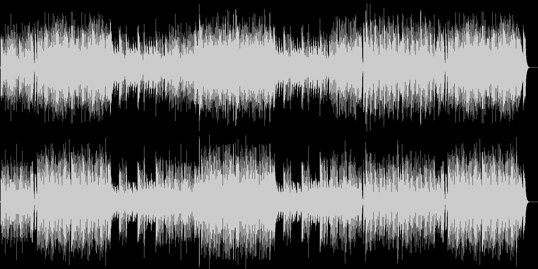 ペット動画に♪躍動感があるピアノBGMの未再生の波形