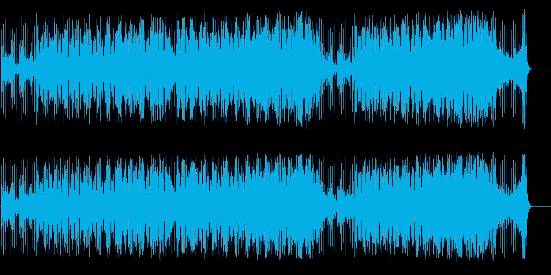 ブレックファーストタイムイメージの再生済みの波形