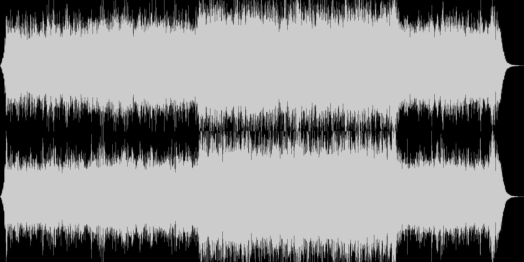 クラシック 交響曲 R&B 民謡 ...の未再生の波形