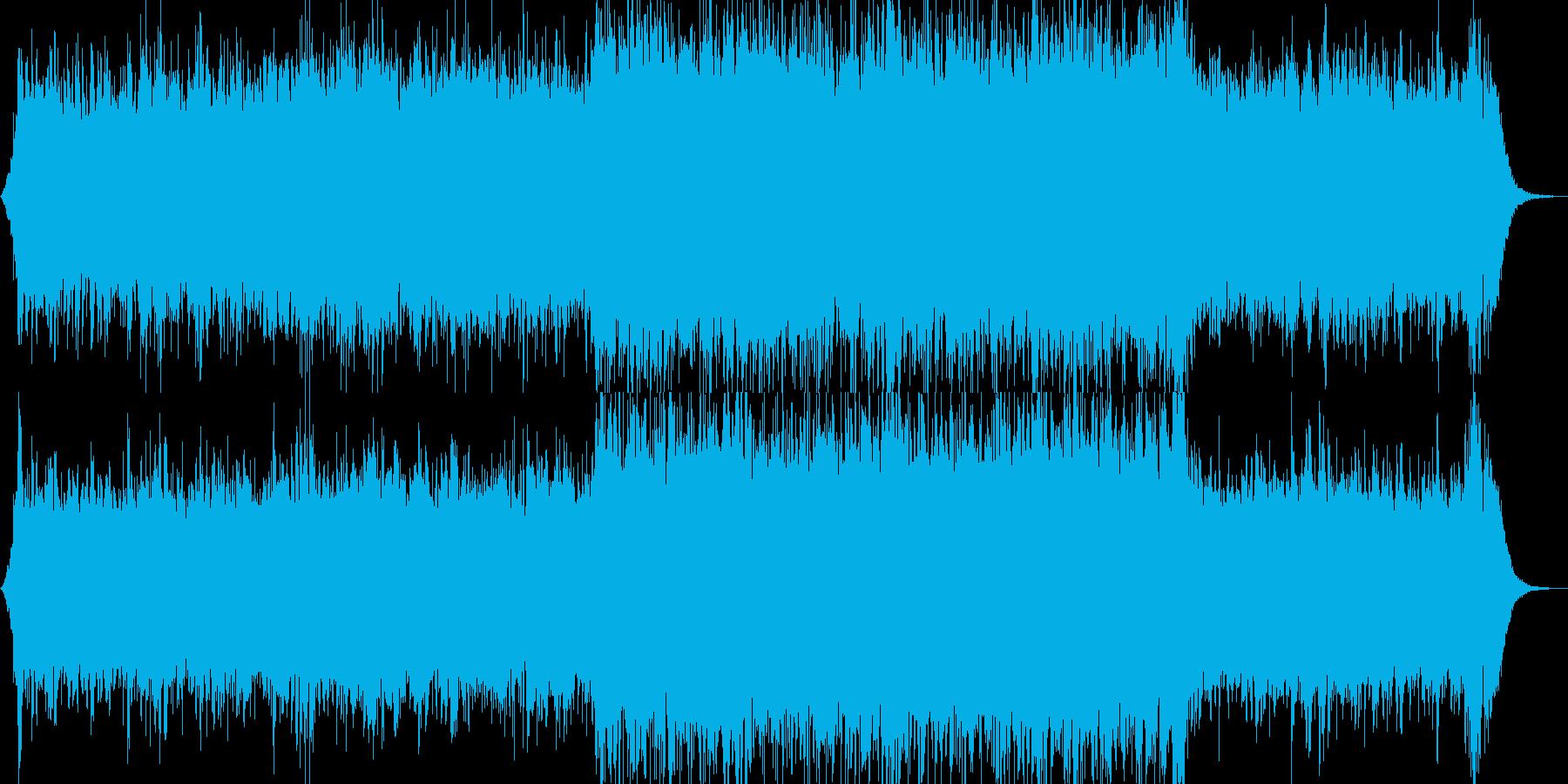 クラシック 交響曲 R&B 民謡 ...の再生済みの波形
