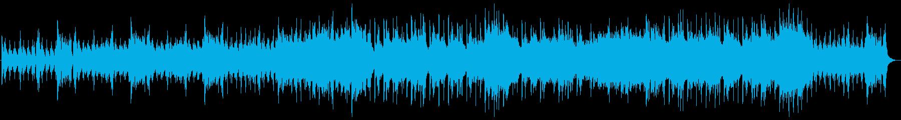 綺麗で繊細なアンビエントポップの再生済みの波形