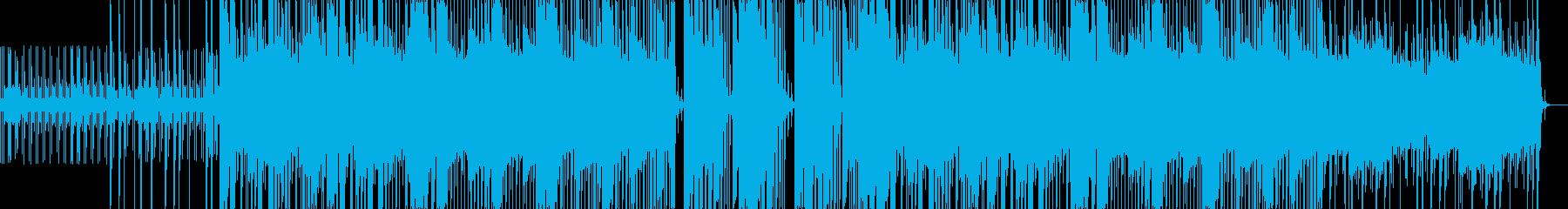【クリスマス】藍色のサリーの再生済みの波形