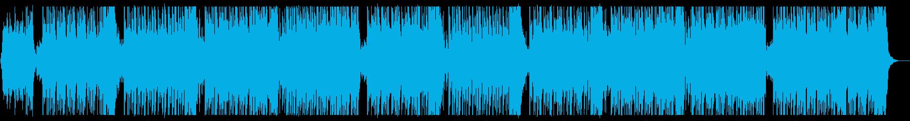 心地よくてぬくもりあるメロディーの再生済みの波形