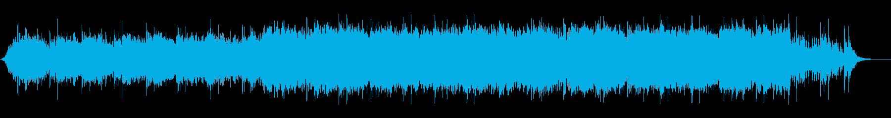 暗い中華風オーケストラの再生済みの波形