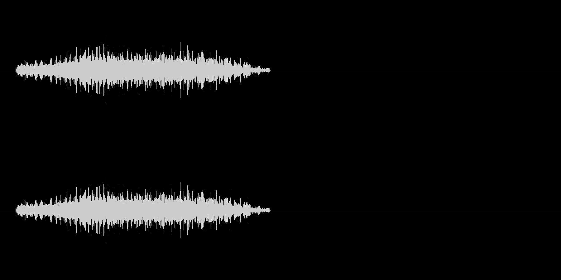 ドリルの軽めの音です。の未再生の波形