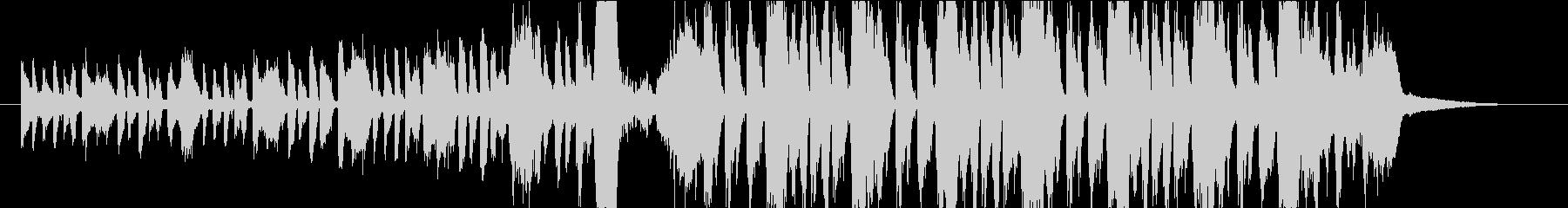 ゴーストダンス!レトロなジャズEDMの未再生の波形
