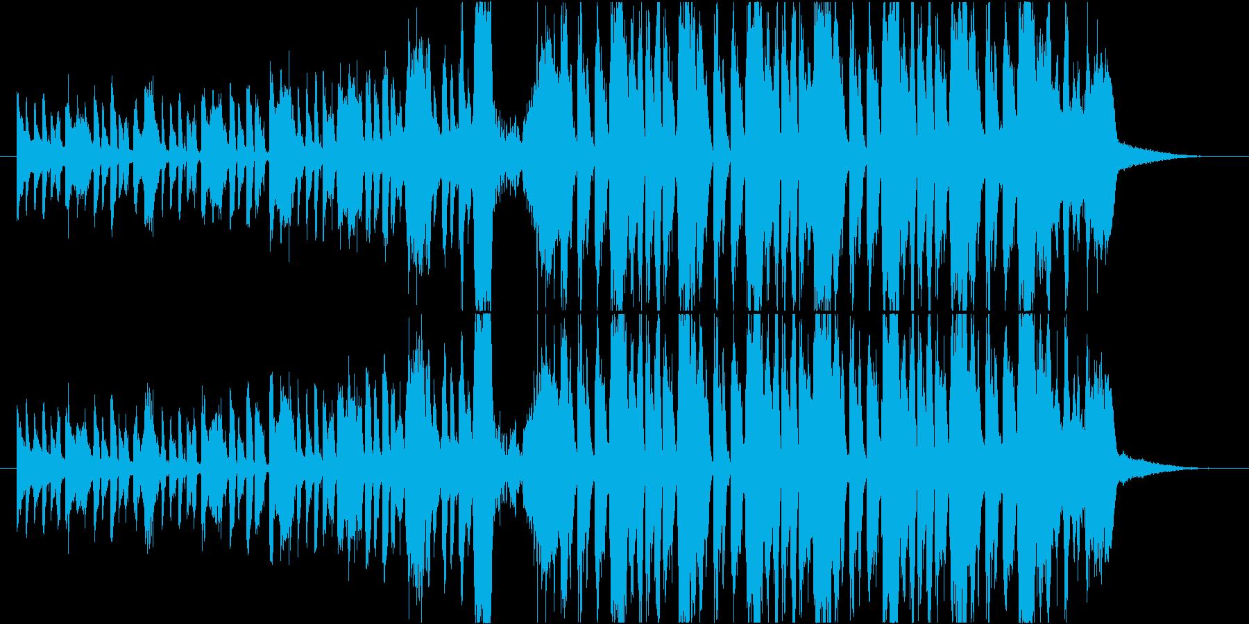 ゴーストダンス!レトロなジャズEDMの再生済みの波形