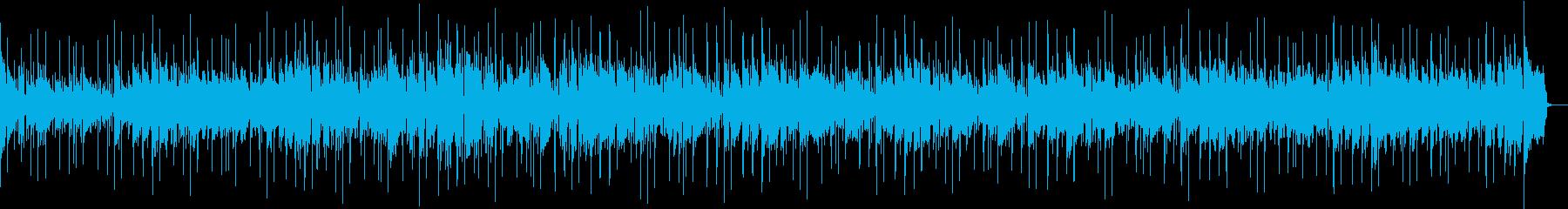 明るい雰囲気のループコードポップの再生済みの波形