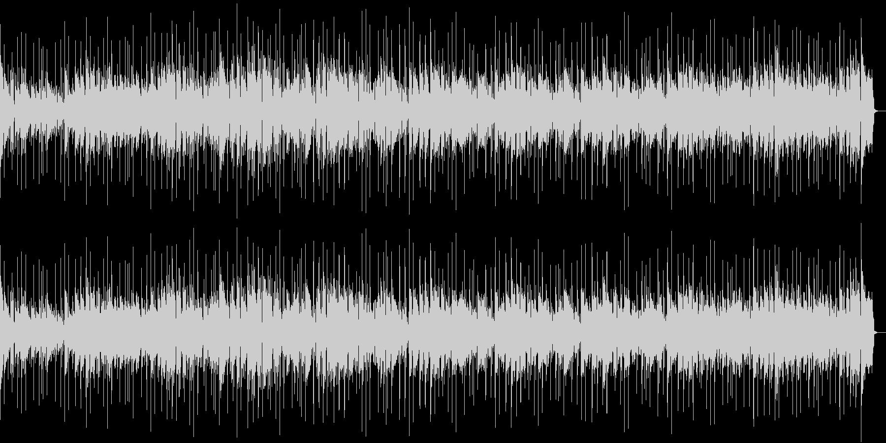 明るい雰囲気のループコードポップの未再生の波形