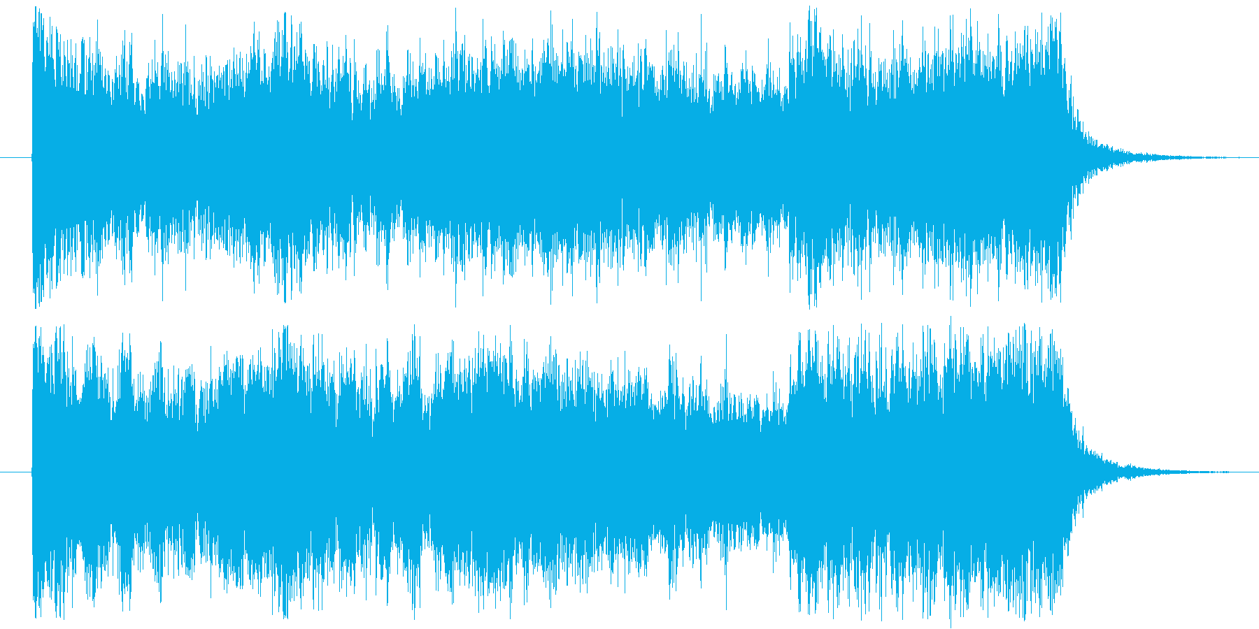 BGM_ホラー_緊迫感_戦闘の再生済みの波形