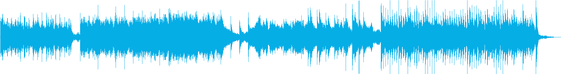 企業VPや映像/壮大オーケストラBGMの再生済みの波形
