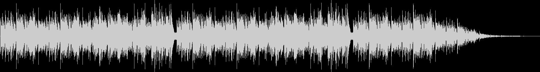 アコギでのボサノヴァ系BGMの未再生の波形